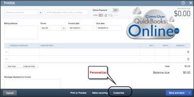 ComoUsarQuickBooksOnline_PersonalizarFacturas